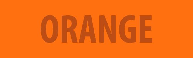 Clare Graves Orange